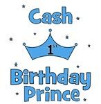 1st Birthday Prince Cash!
