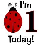 Ladybug I'm 1 Today!