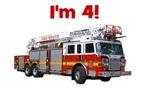 I'm 4! Firetruck
