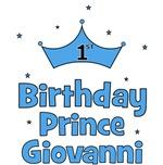 1st Birthday Prince GIOVANNI!