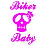 Biker Baby Skull