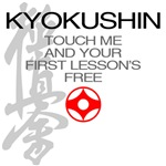 Touch me, first Kyokushin lesson's free