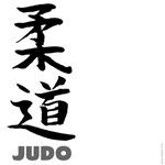 Judo teeshirts: Judo in Japanese
