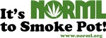 NEW! It's NORML to Smoke Pot!
