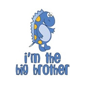 i'm the big brother dinosaur