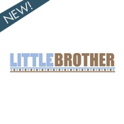 little brother brown blue