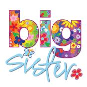 big sister bright flowers