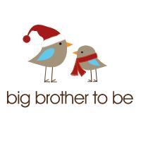 christmas big brother to be t-shirt