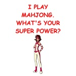 funny mahjong joke on gits and t-shirts.