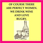 rugby joke on gifts and t-shirts.