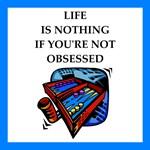 Backgammon joke on gifts and t-shirts