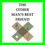 golf joke on gifts and t-shirts.