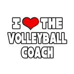 I Love The Volleyball Coach