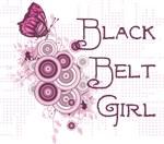 Martial Arts Black Belt Girl