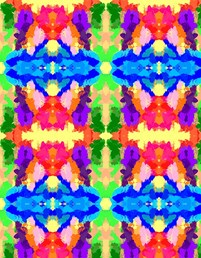 Rainbow Kaleidoscope Butterflies