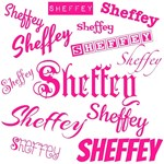 Pink Sheffey Fonts - 9572