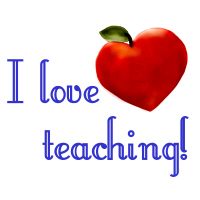 3. I Love Teaching!