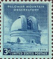 US 3 Cent 1948 Mt. Palomar Observatory