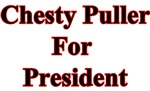 Chesty Puller for President - Red