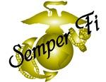 Semper Fi Gold EGA Design