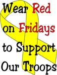 Wear Red on Fridays