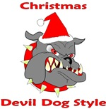 Christmas Devil Dog Style
