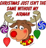 Christmas just isn't the same without my Airman