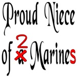 Proud Niece of 2 Marines