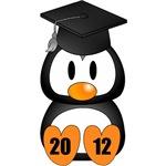 Personalize It  Graduation Penguin