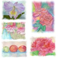 Mother's Day Watercolor Prints , T-Shirts , Appare