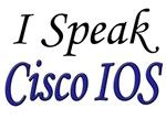 I Speak Cisco IOS, blue