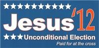 Jesus '12 Bumper Stickers & More
