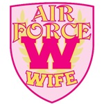 Super Air Force Wife Crest