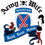 Custom 10th Mountain shirts