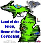 MI - Land of the Free, Home of the Corvette!