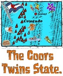 CO - The Coors Twins State.