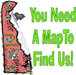 DE - You Need A Map To Find Us!