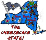 NY - The Cheesecake State!