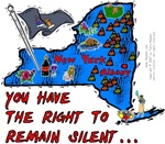 NY - You Have The Right To Remain Silent...