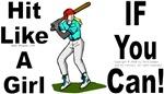 Hit Like A Girl (baseball)