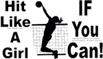 Hit Like A Girl. (Volleyball 2)