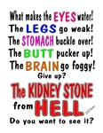 Kidney Stone from Hell