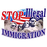 Stop Illegal Immigration: Shirts, Hats, Stickers &