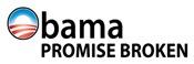 Obama Promise Broken