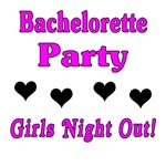 Girls Night Out Hearts