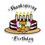 Thanksgiving Birthday T-Shirts & Gifts
