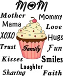Mom Family Cupcakes