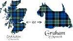 Scotland Map / Scottish Terrier