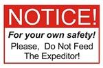 Notice / Expeditors