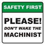 Machinist / Wake